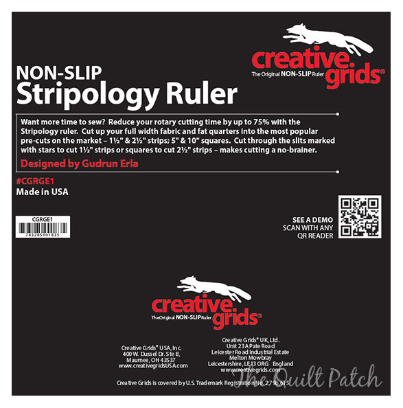 Creative Grids Stripology Ruler