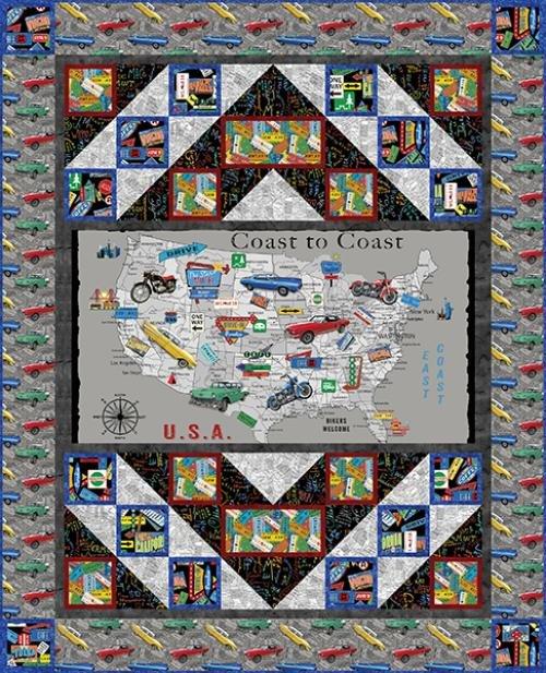 Coast to Coast Map Kit