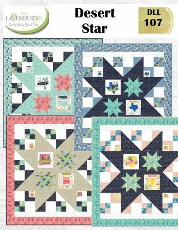Desert Star Quilt Kit 76 x 84