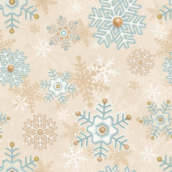 Snowflakes Cream- I still love snow 2