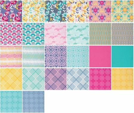 Fat Quarter Bundle Atrium 26pcs