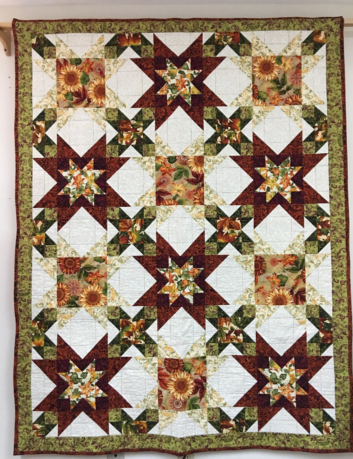Welcome Harvest- Quilt #1 Kit
