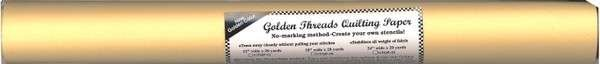 Golden Threads Quilting Paper 24in x 20yds