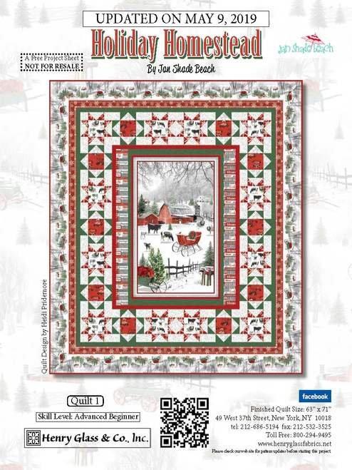 Holiday Homestead Panel Kit