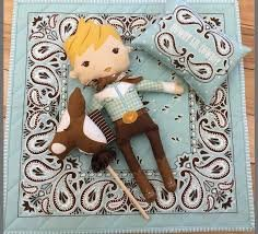 Howdy Panel- Cowboy