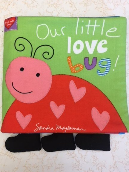 Huggable & Lovable Book- Lady Bug