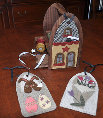 Spring Tote Adornments Kit