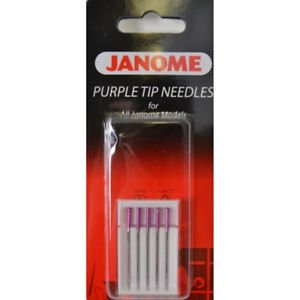 Purple Tip Needles- Janome