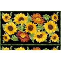 Sunflower Panel- Flowers of the Sun