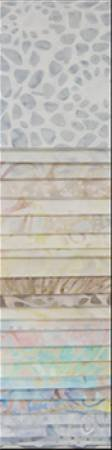 Batavian Jewels White Noise 24pcs 2-1/2in x 44in Stripes