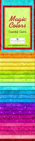 2-1/2in Strips Essentials Gems Magic Colors