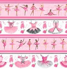 Tutu & Toe Shoes Border Ballerinas