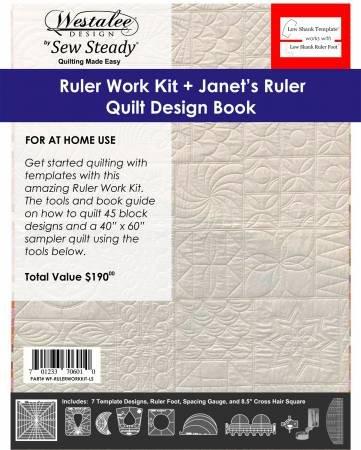 Westalee Ruler Work Kit HS