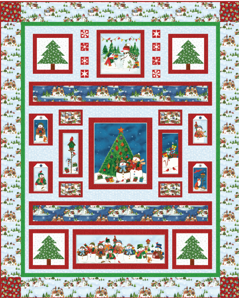 Winter Wishes - Quilt 1