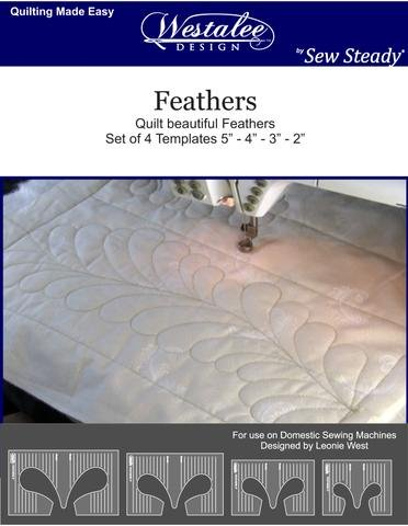 Feathers Ruler Set 4 Templates