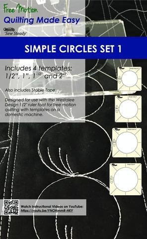 Simple Circle Set Set 1 High Shank