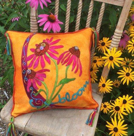 Bloom Crazy Pillow wool kit - 80.00
