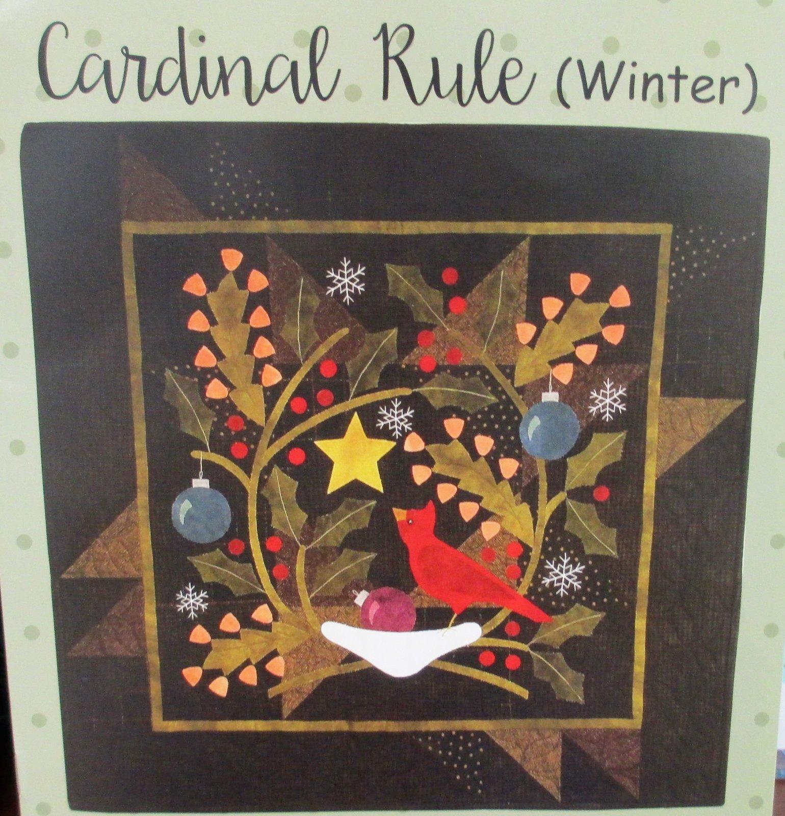 Cardinal Rule (Winter)  Kit - 120.00