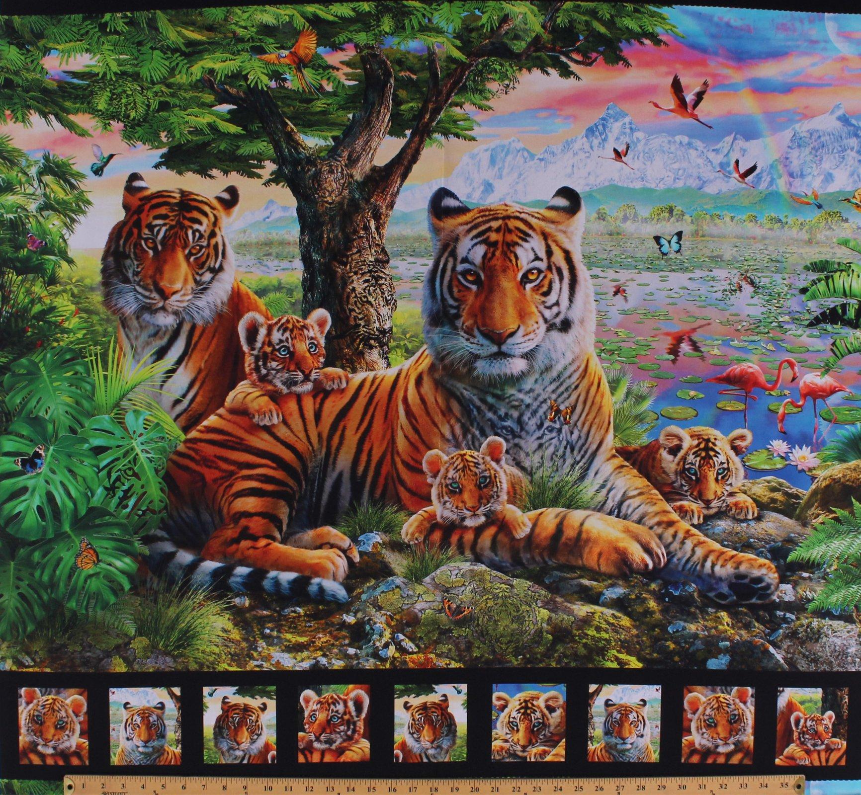 32 - Wild Kingdom panel
