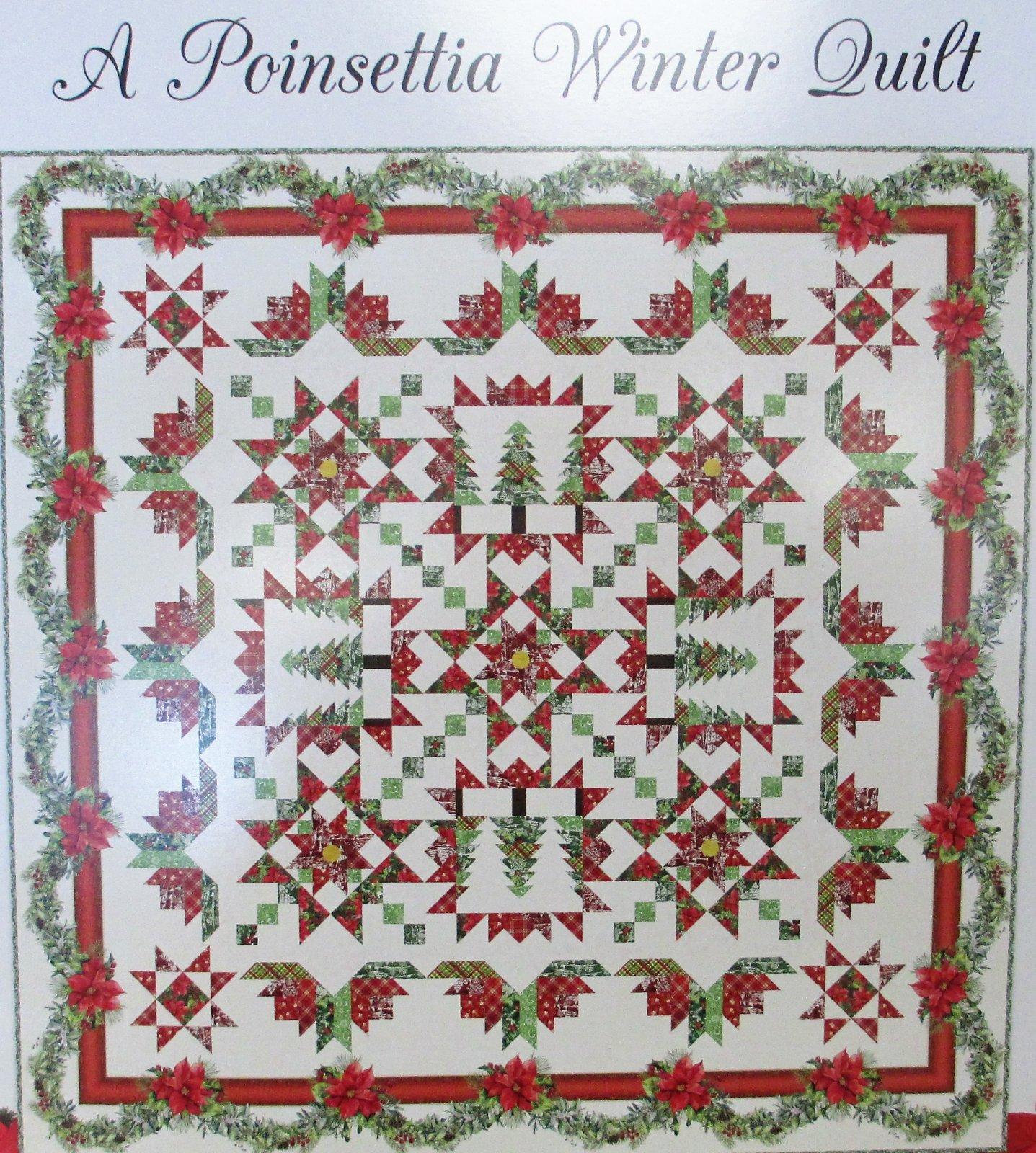 Poinsettia Winter - 50.00