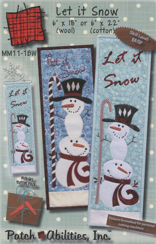 Let It Snow wool kit - 30.00
