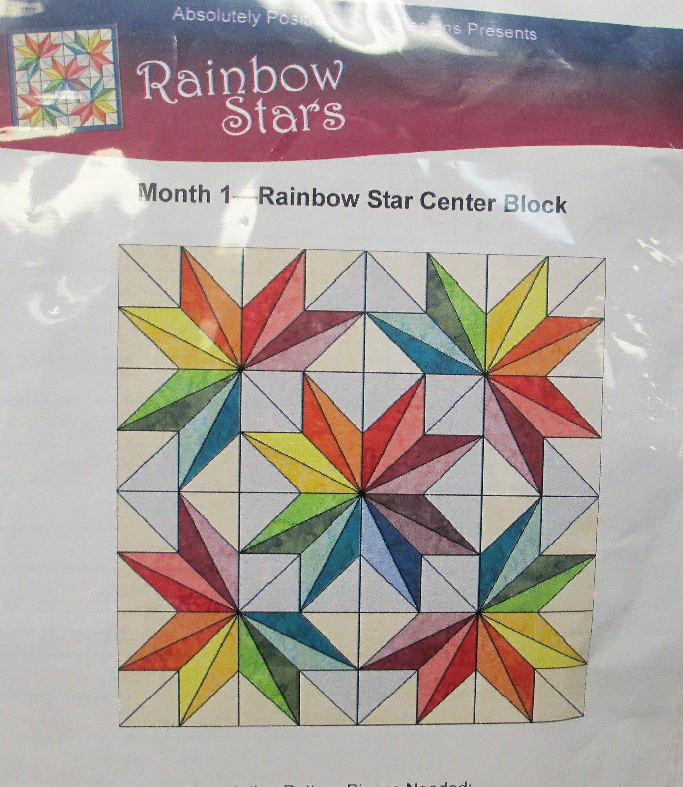 Rainbow Stars Center Block kit
