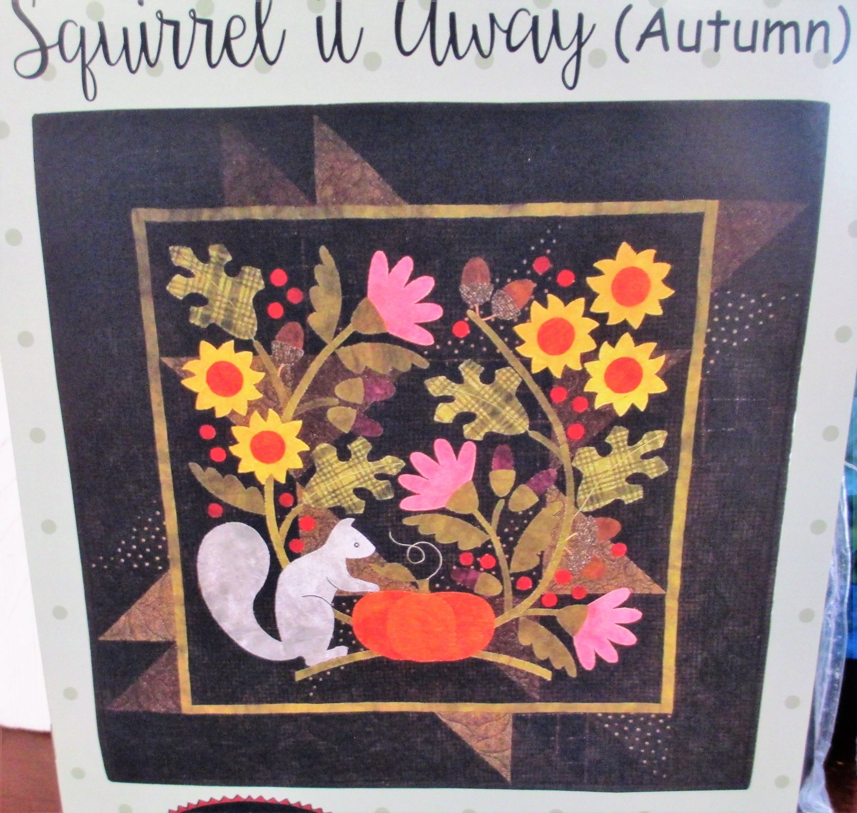 Squirrel It Away (Autumn)  kit - 120.00