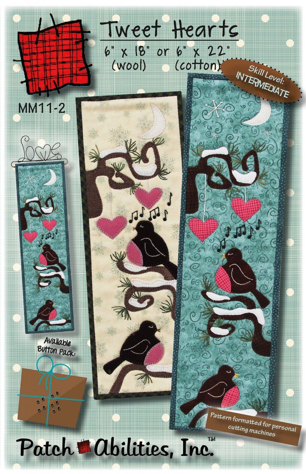 Tweet Hearts wool kit - 28.00