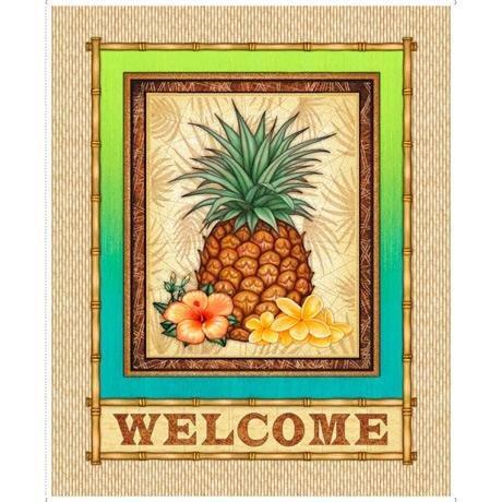 48 - Pineapple Welcome panel