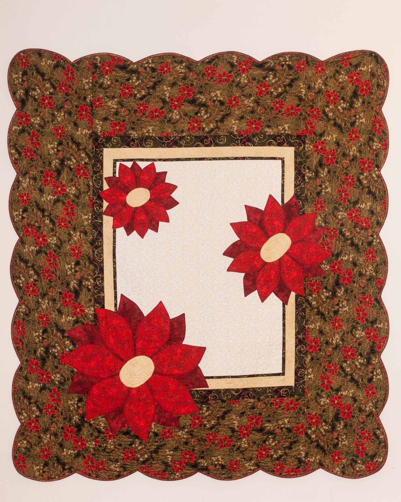 Poinsettia  63 x 70
