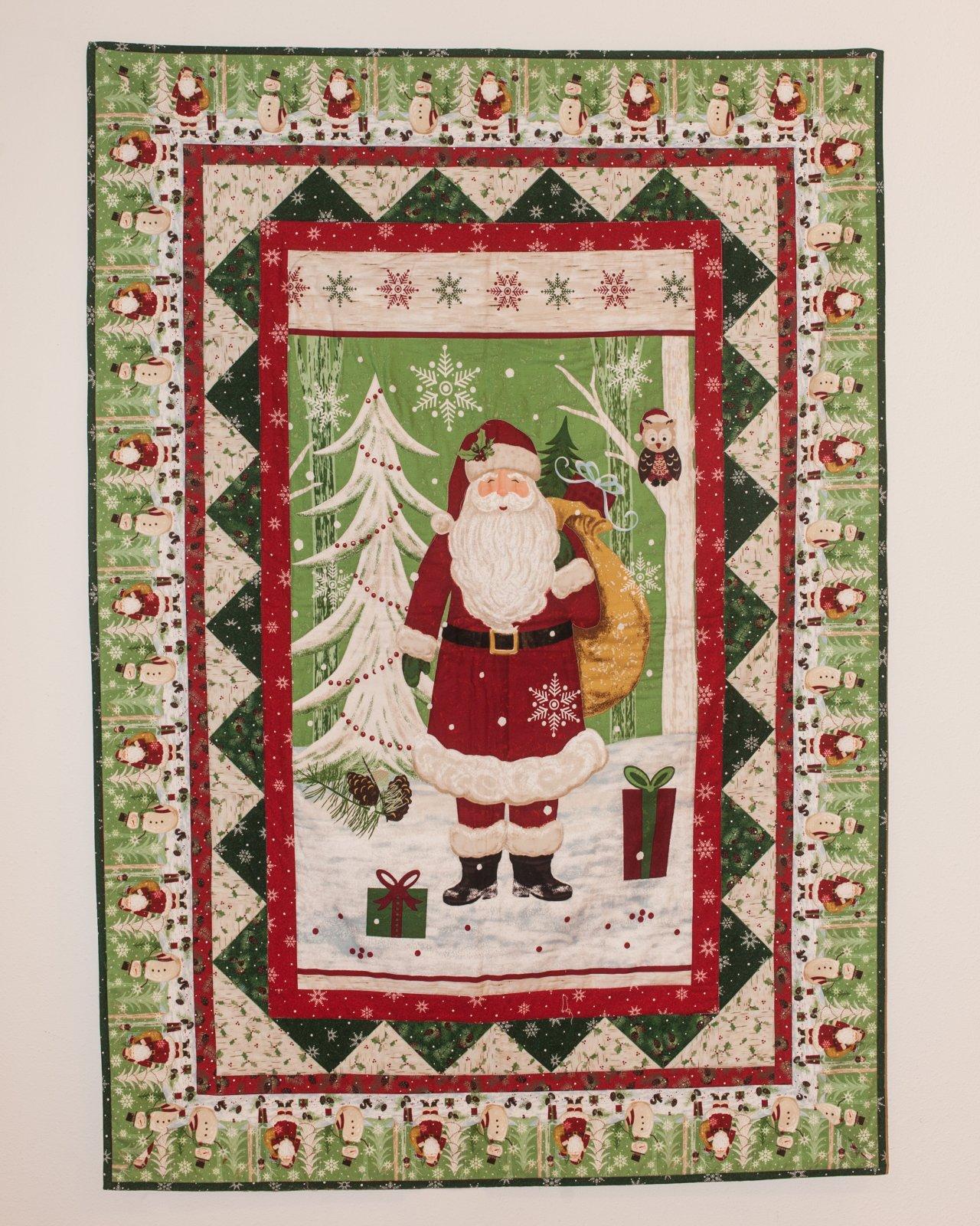 Santa Sample 42 x 60