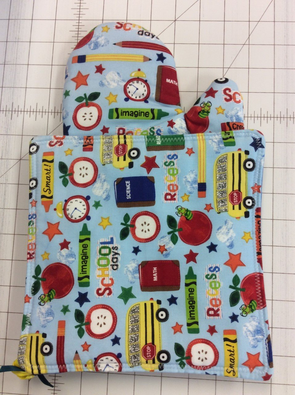 Oven Mitt&Hotpad Sets-School