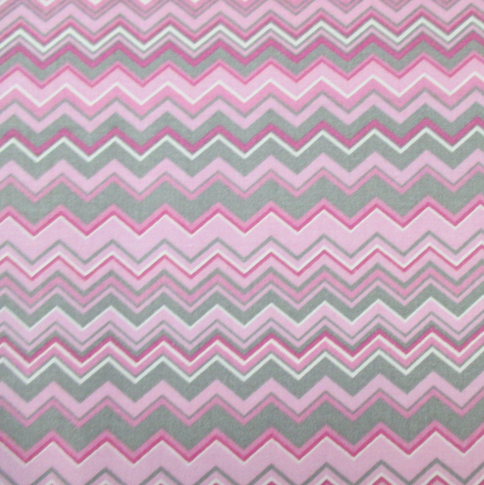 A.E. Nathan - Chevron - Pink/White/Gray