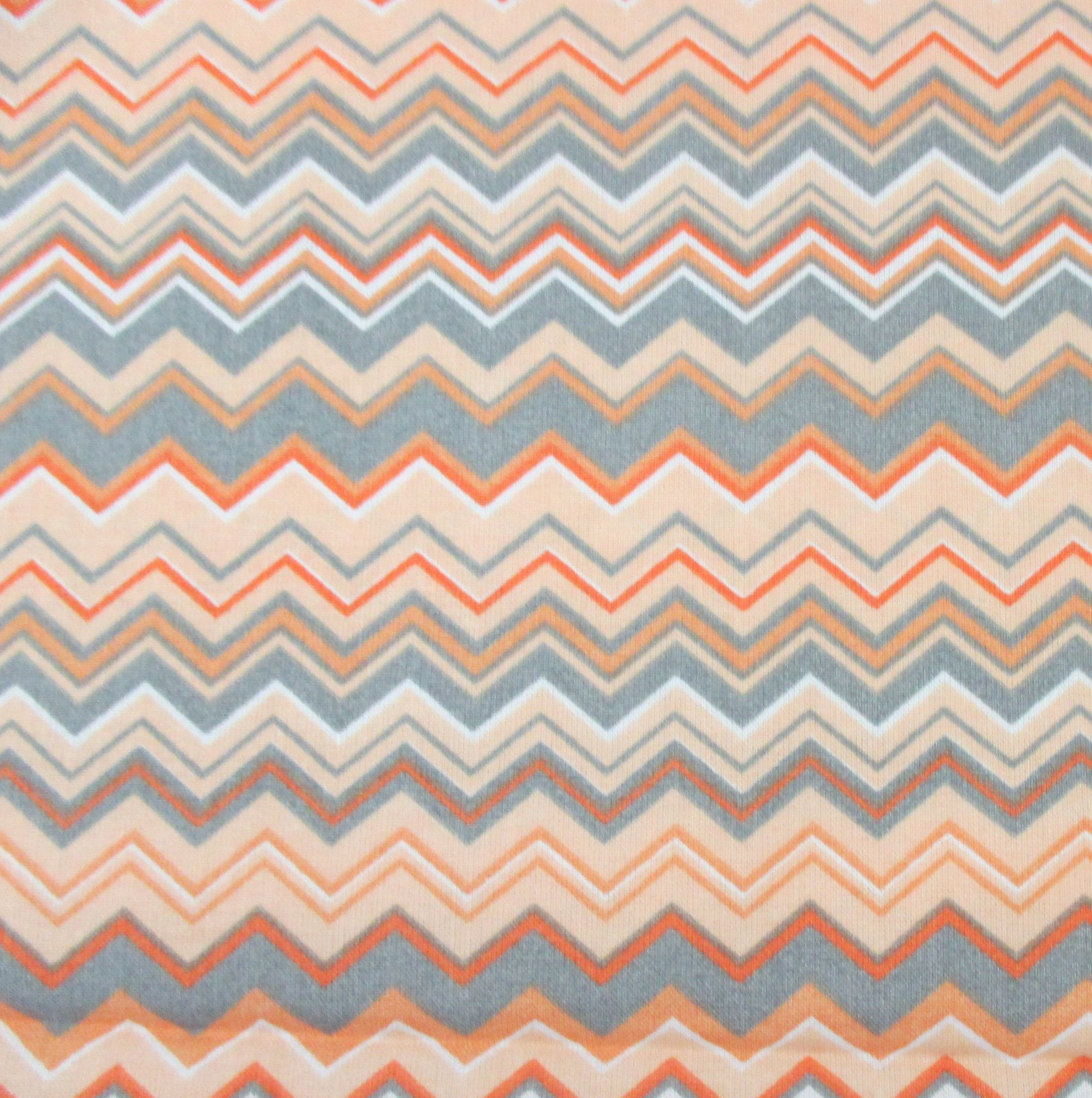 A.E. Nathan - Chevron - Orange/Gray/White