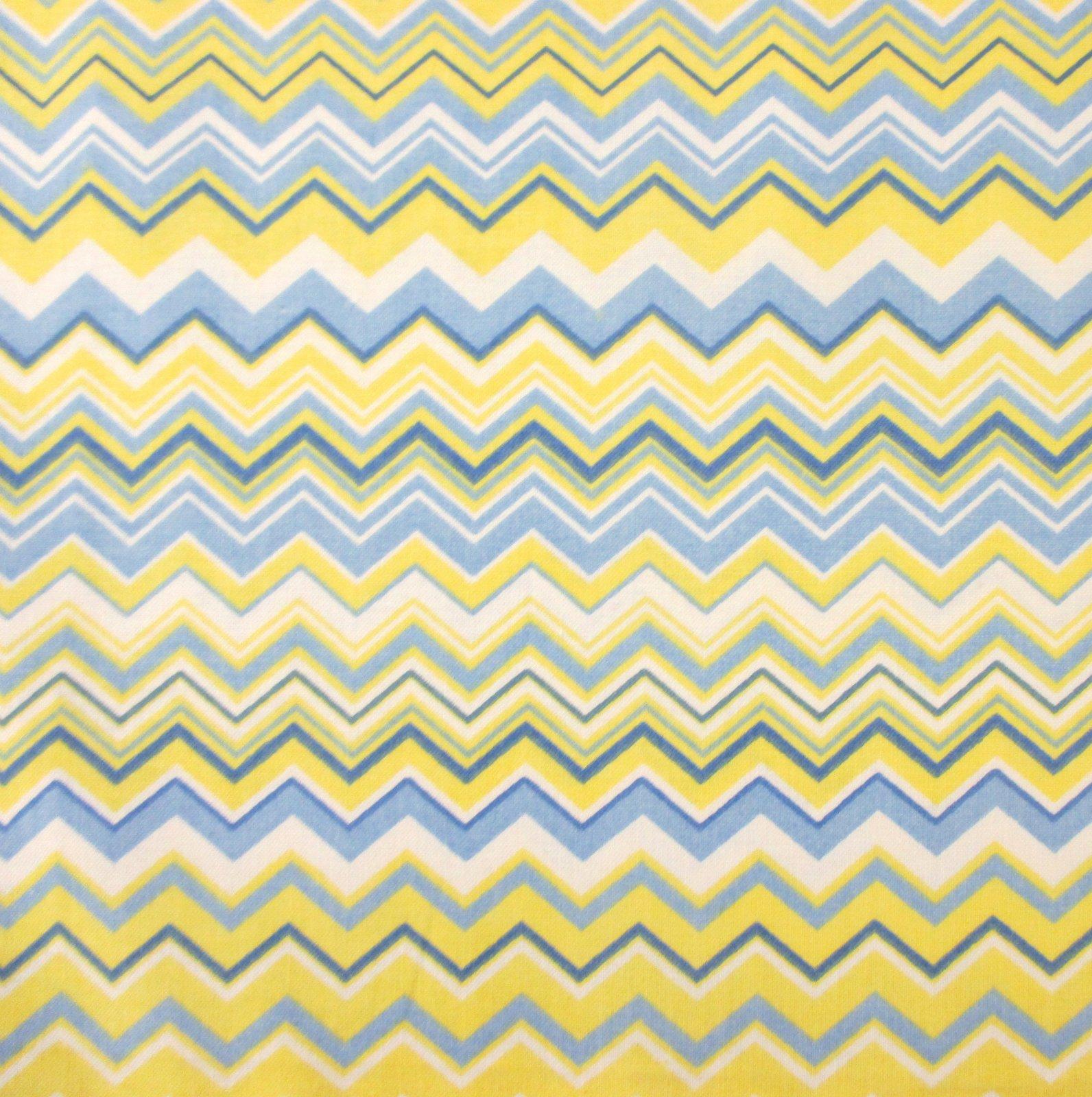 A.E. Nathan - Chevron - Blue/Yellow/White