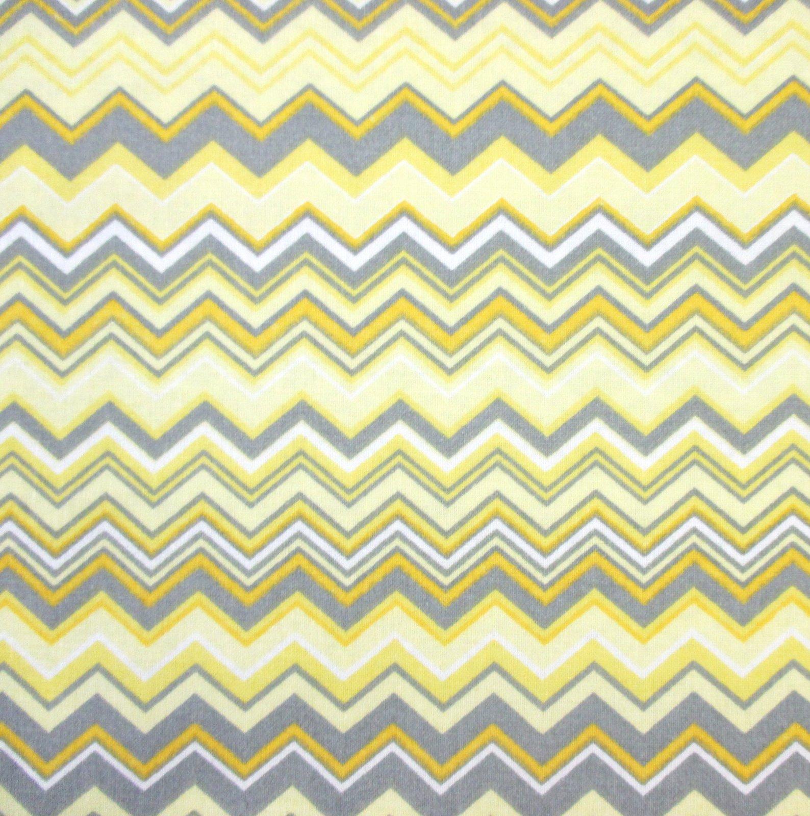 A.E. Nathan - Chevron - Yellow/Gray/White