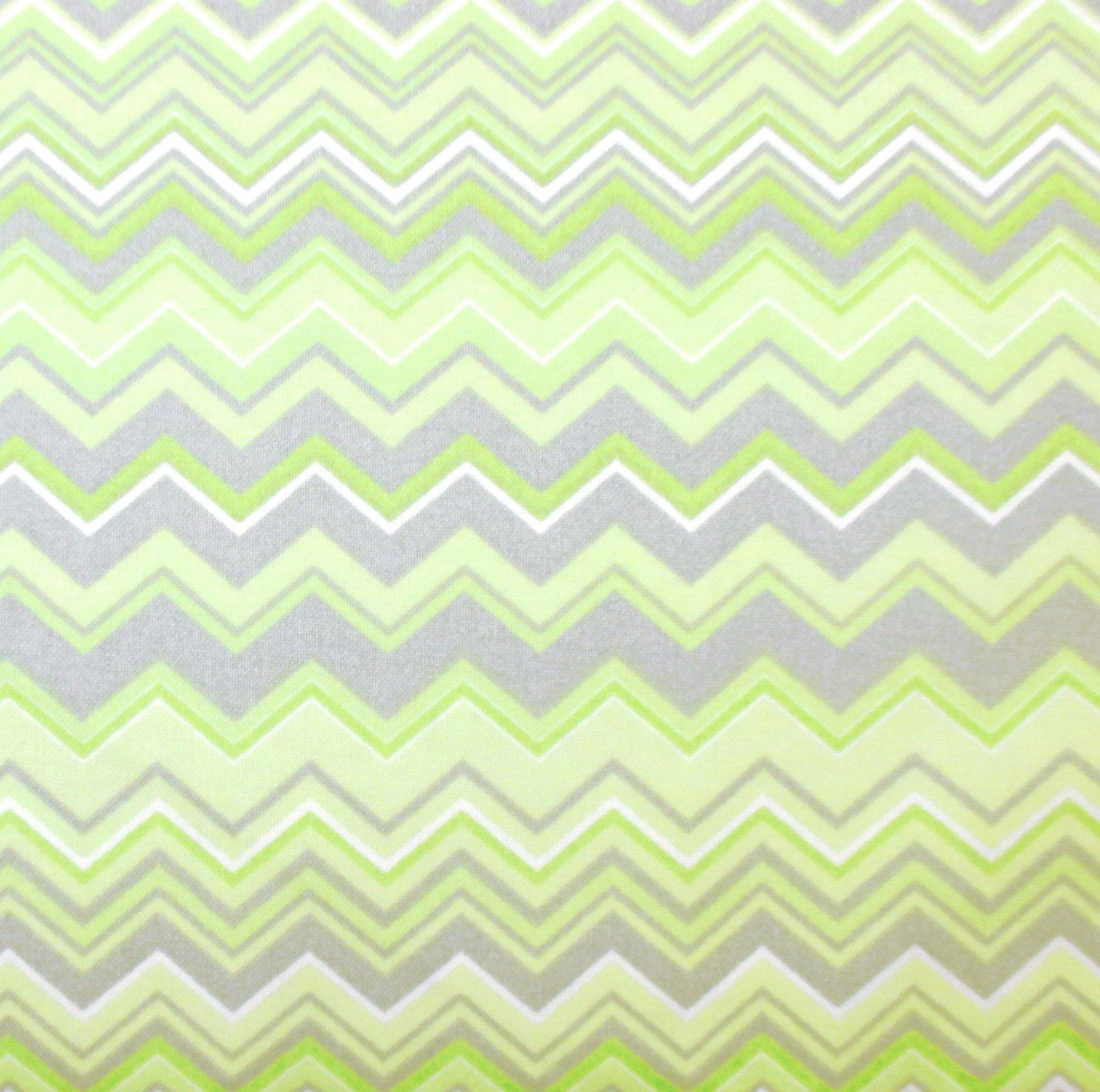 A.E. Nathan - Chevron - Green/Gray/White
