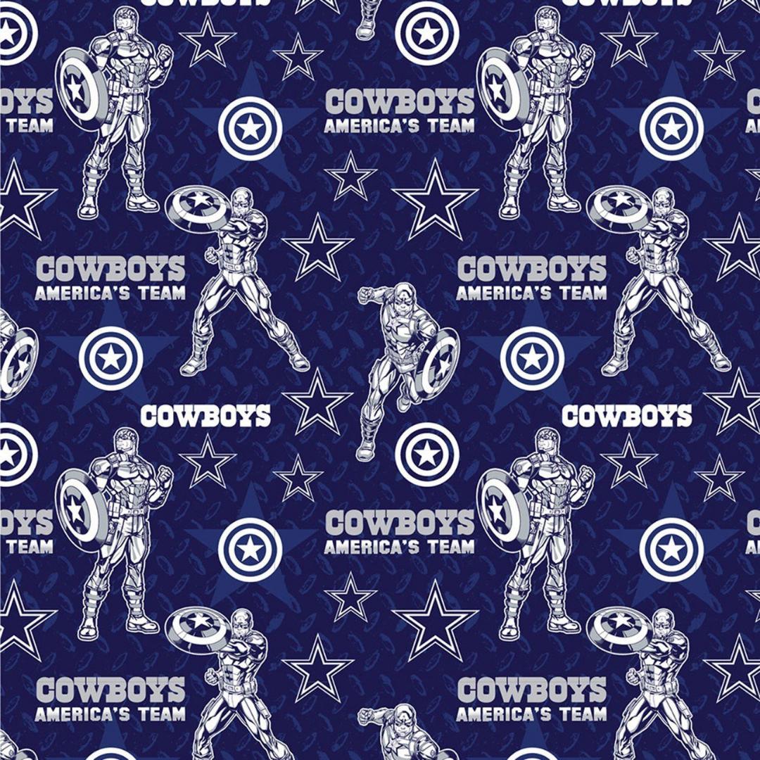 NFL x Marvel - Dallas Cowboys & Captain America