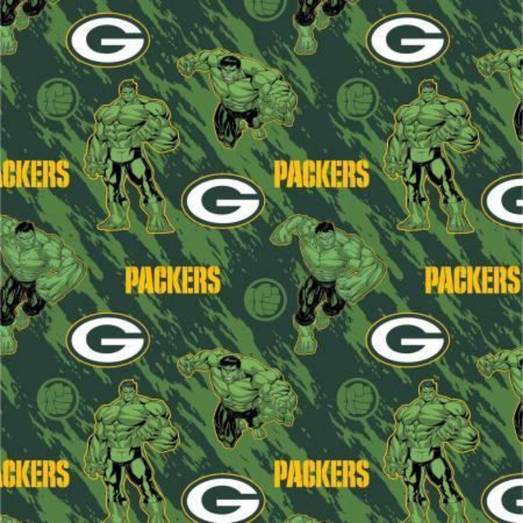 NFL x Marvel - Green Bay Packers & Hulk