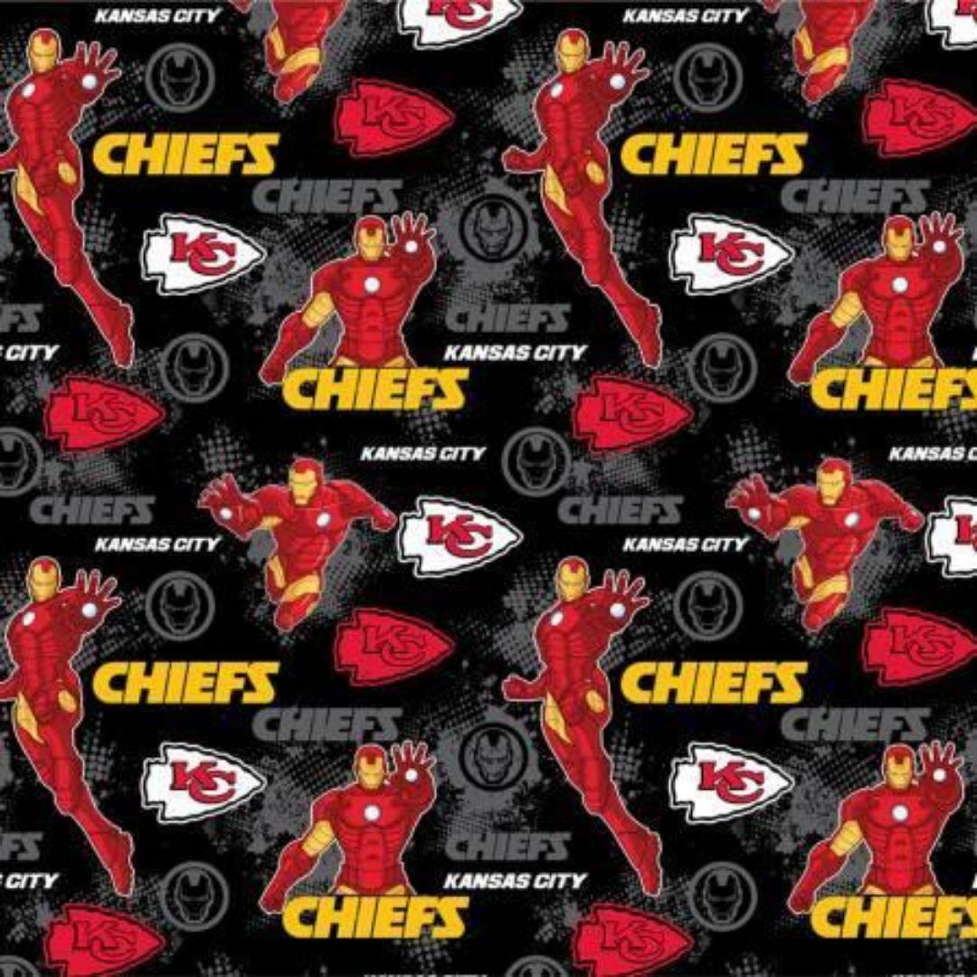 NFL x Marvel - Kansas City Chiefs & Iron Man
