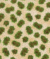 Holiday Accents - Bunches of Pine - Cream