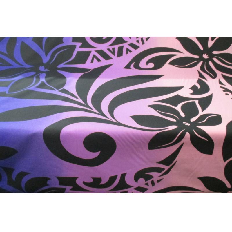 Tiare & Tribal Ombre (Purple/Pink)