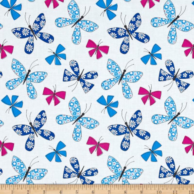 Michael Miller - Chasing Butterflies - Blue