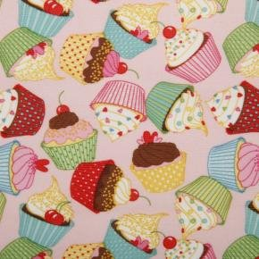 PUL Laminate - Cupcakes