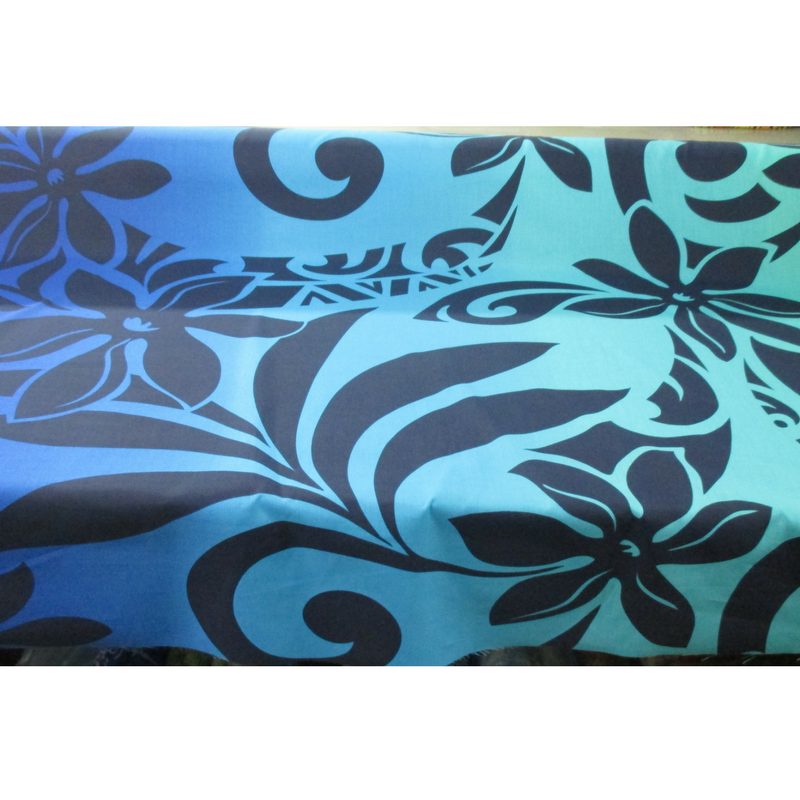 Tiare & Tribal Ombre (Turquoise/Blue)