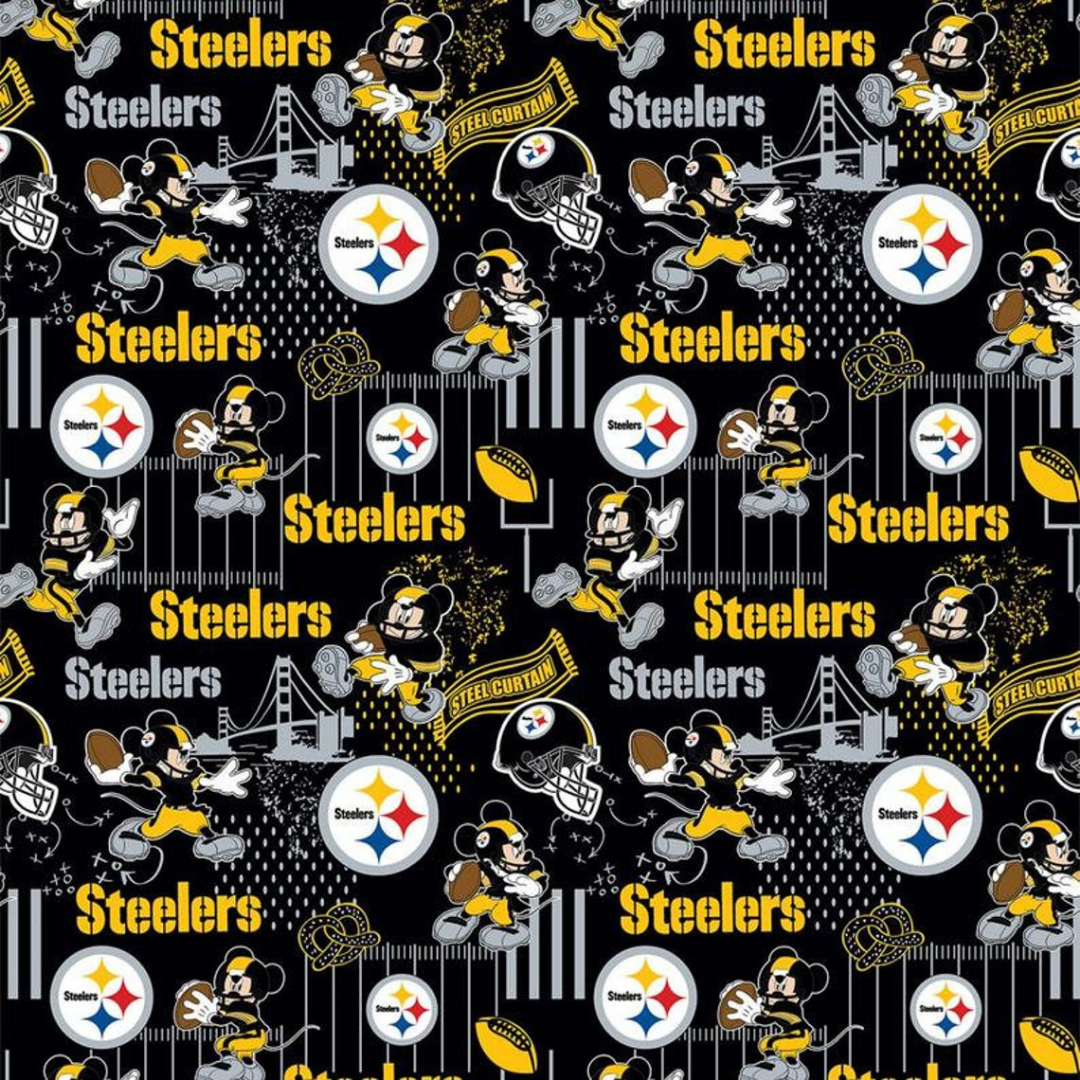 NFL x Disney - Pittsburgh Steelers & Mickey