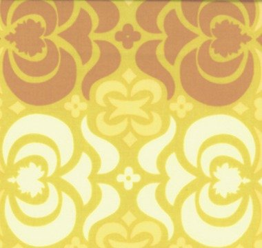 Garden Maze - Mustard