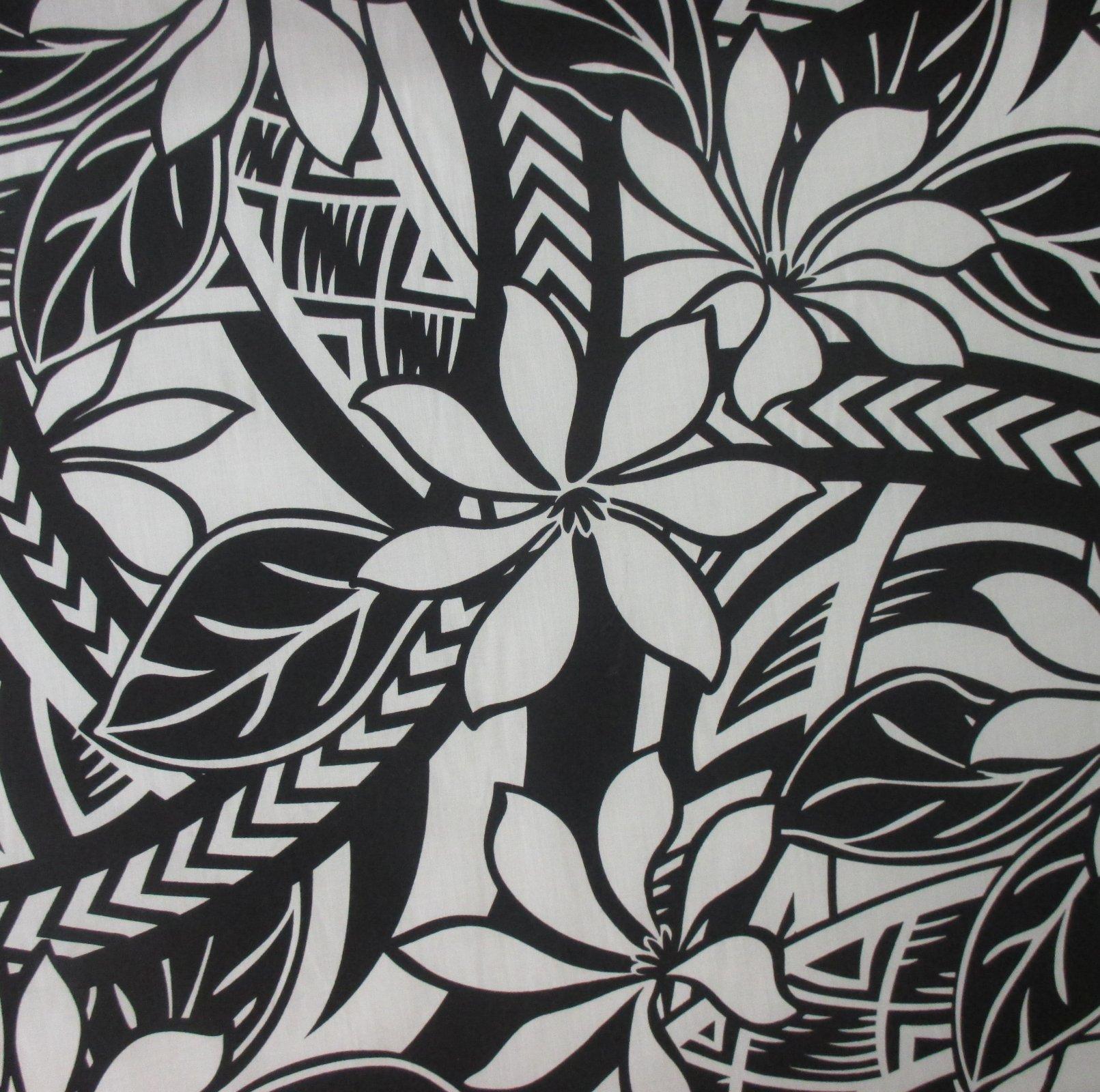 Tropical Hawaiian Poly Cotton Blend