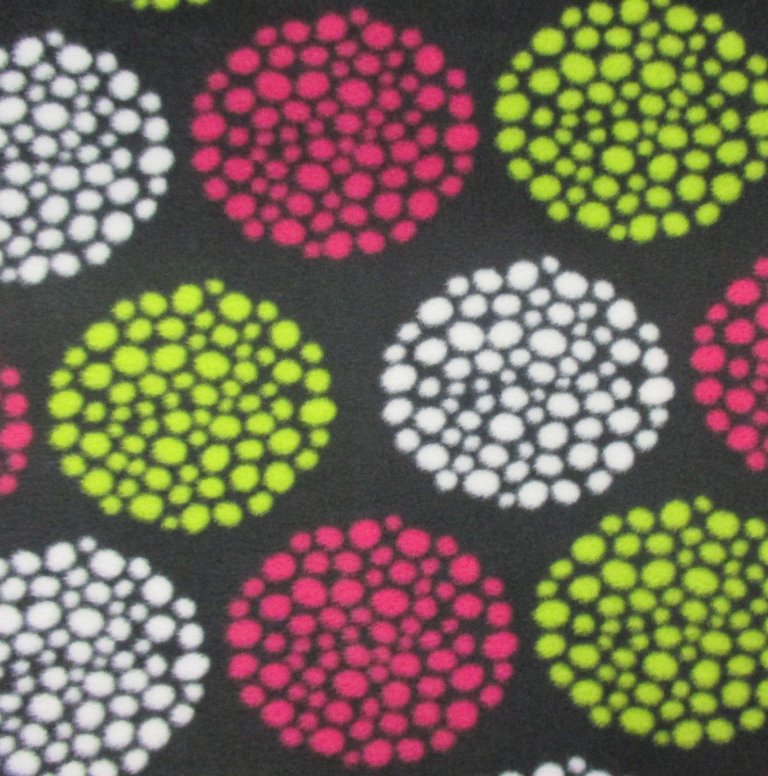Colorful Dots Fleece