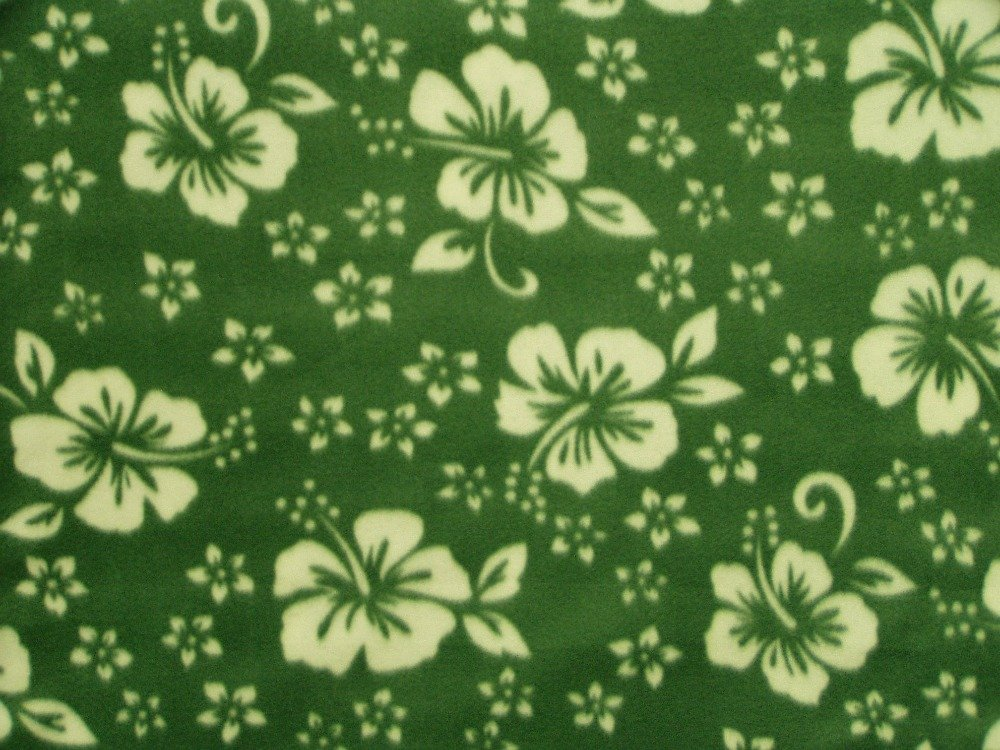 Classic Hibiscus - Green